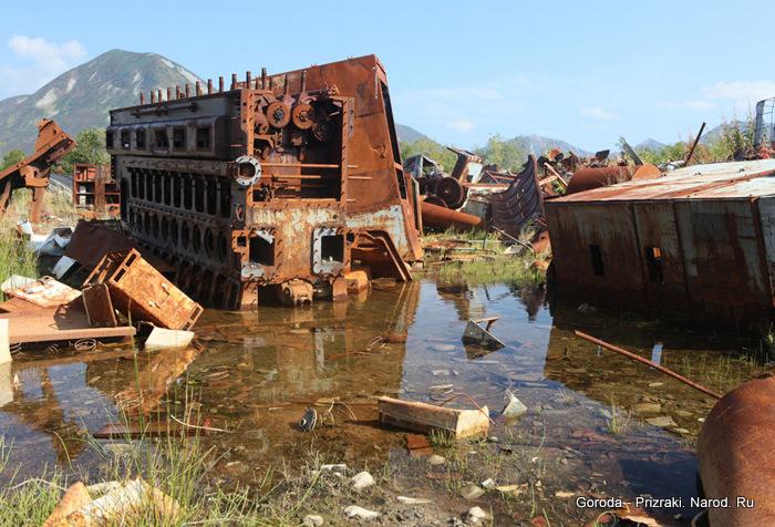 заброшенные рыбацкие поселки