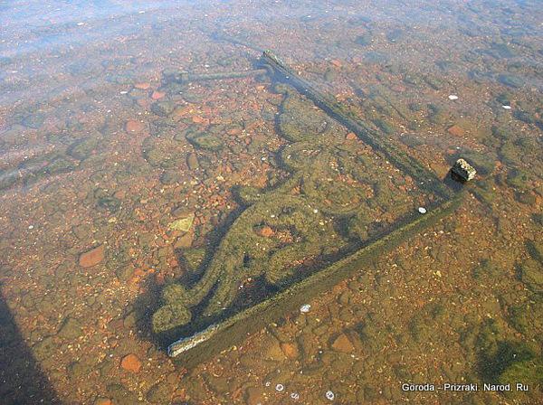 молога.затопленный город фото